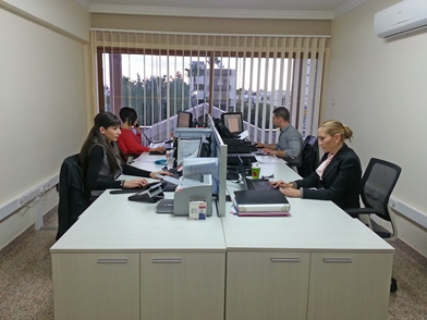 Laveco office in Cyprus